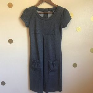 Black and Grey Casual Dress with pockets. 4P.